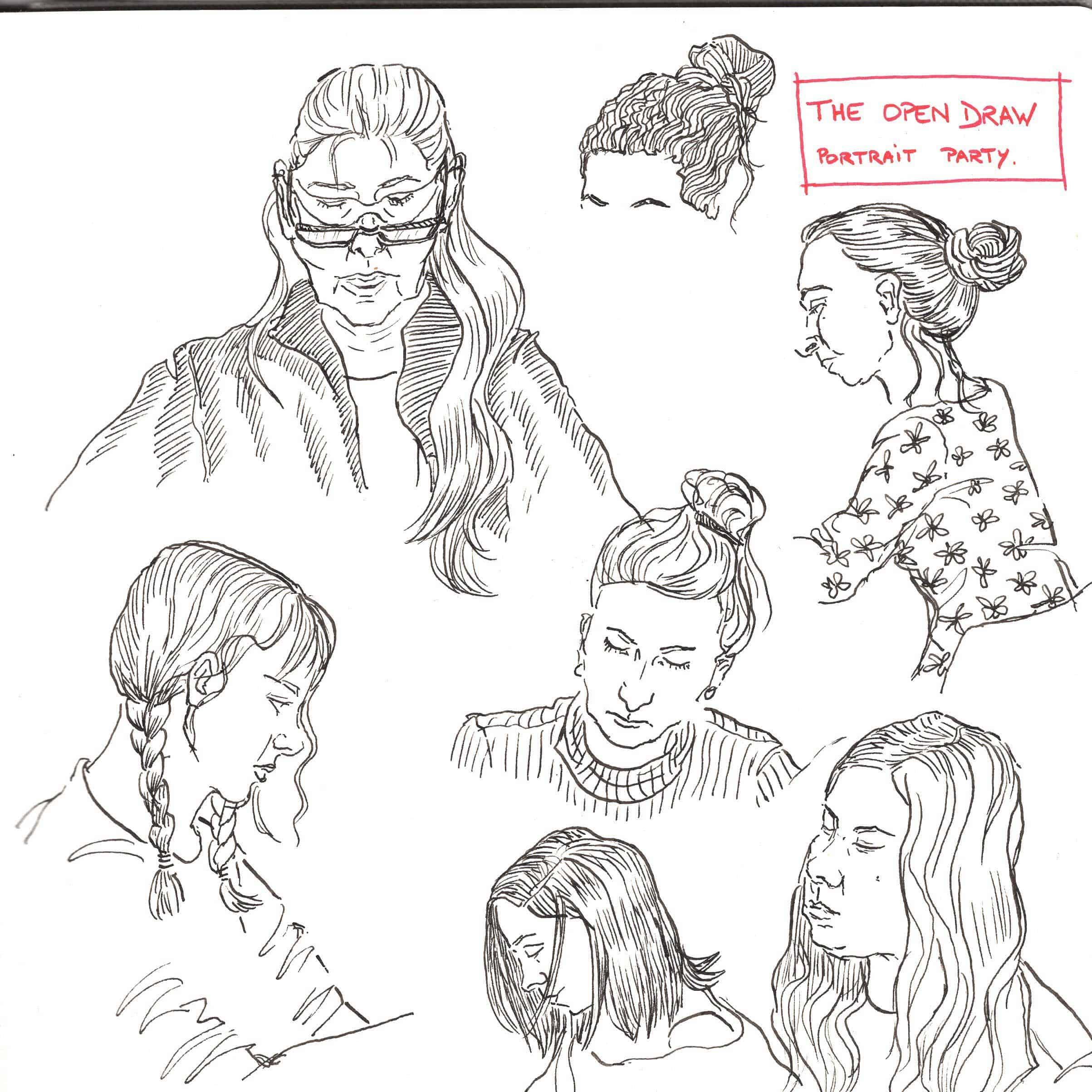 Gwen Glotin sketch technique