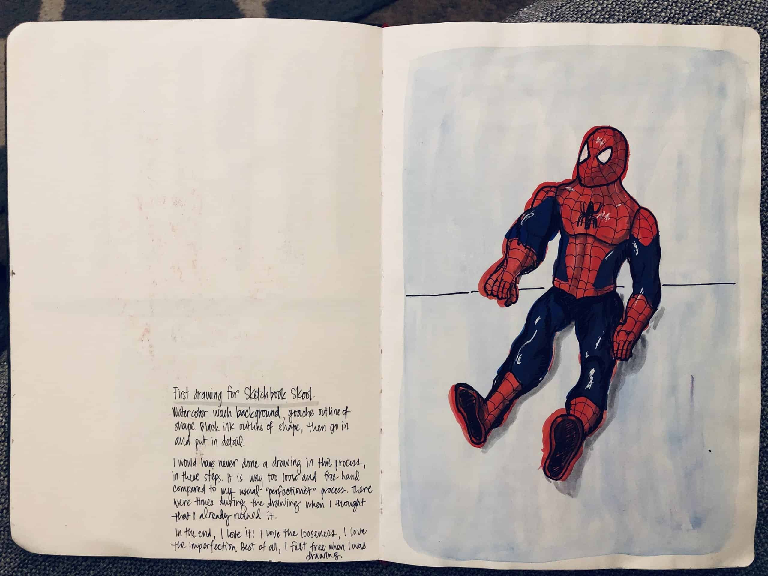 Elaine Villasper sketchbook