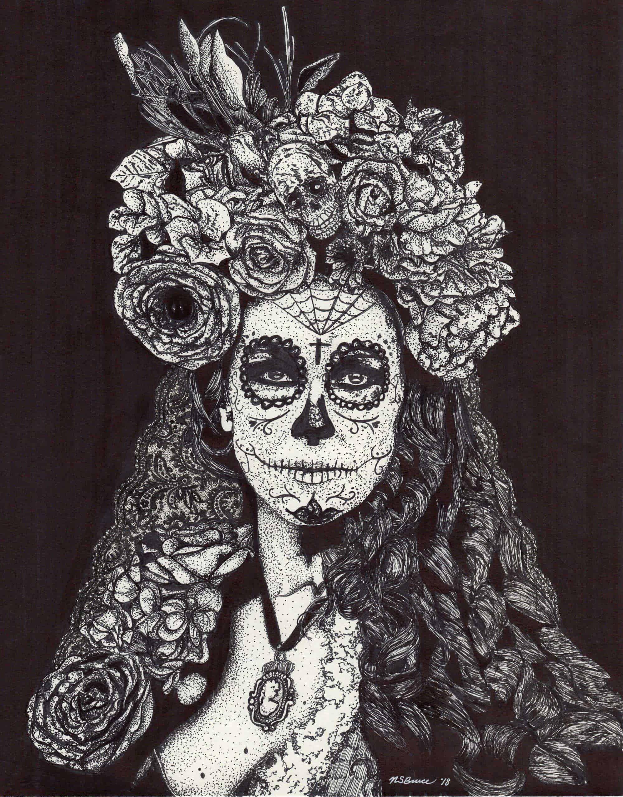 Nadia Bruce drawing art