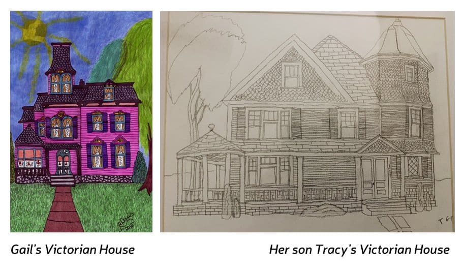 Gail Dennis drawings