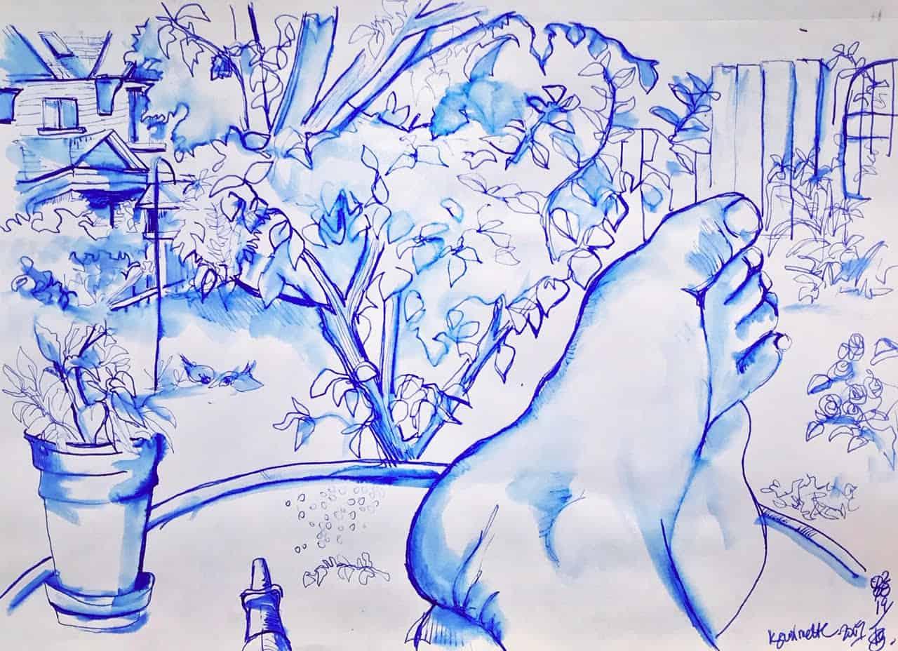 Kimberley Guilmette drawing