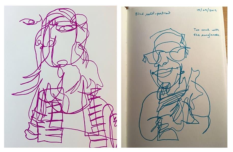Melanie Mercuri sketch book