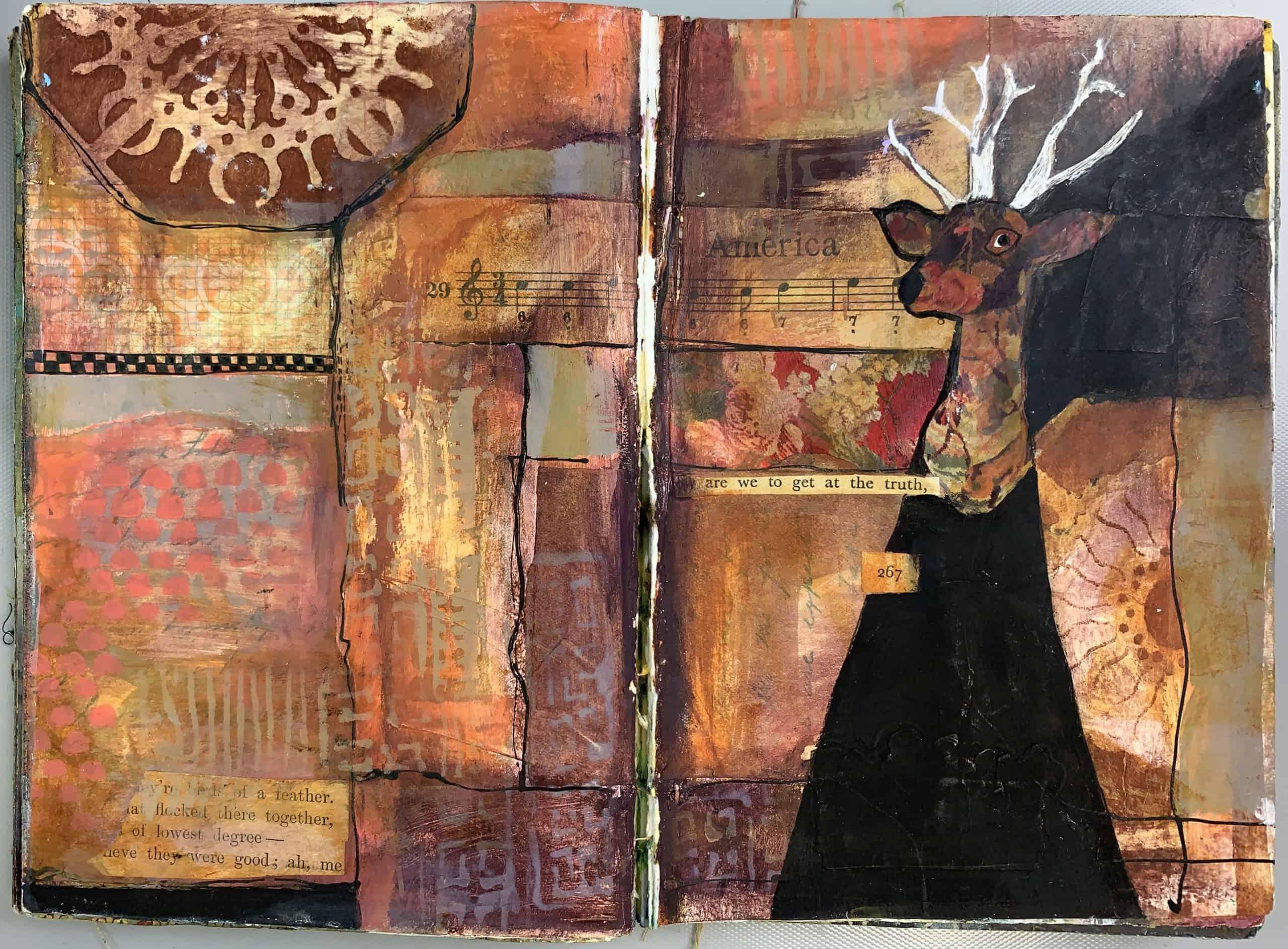 Mary Beth Shaw sketch work