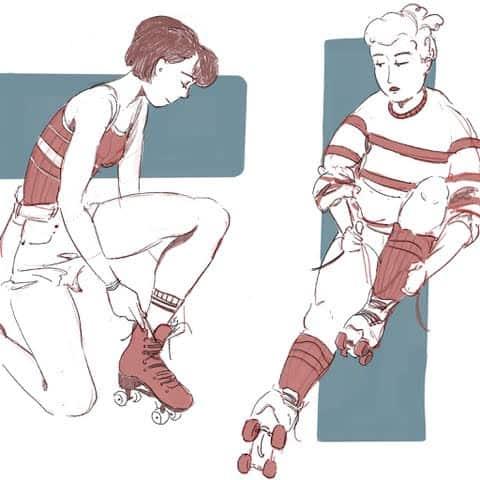 Georgina Cahill sketch