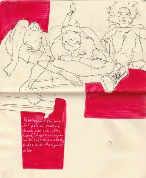 Georgina Cahill sketch work