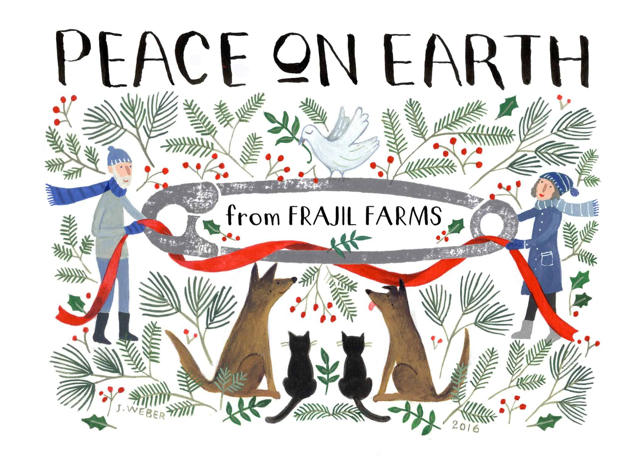 peace on earth sketch