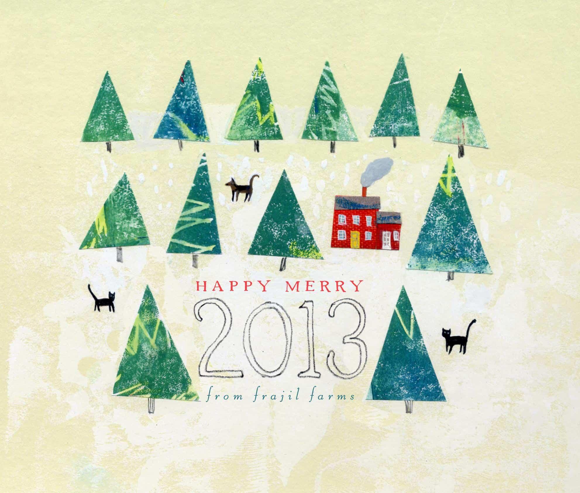 happy merry 2013 sketch