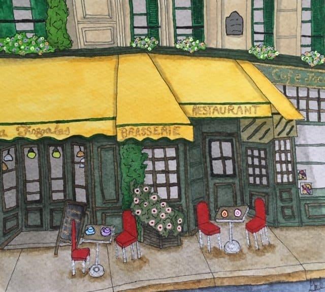Gail Dennis sketch work