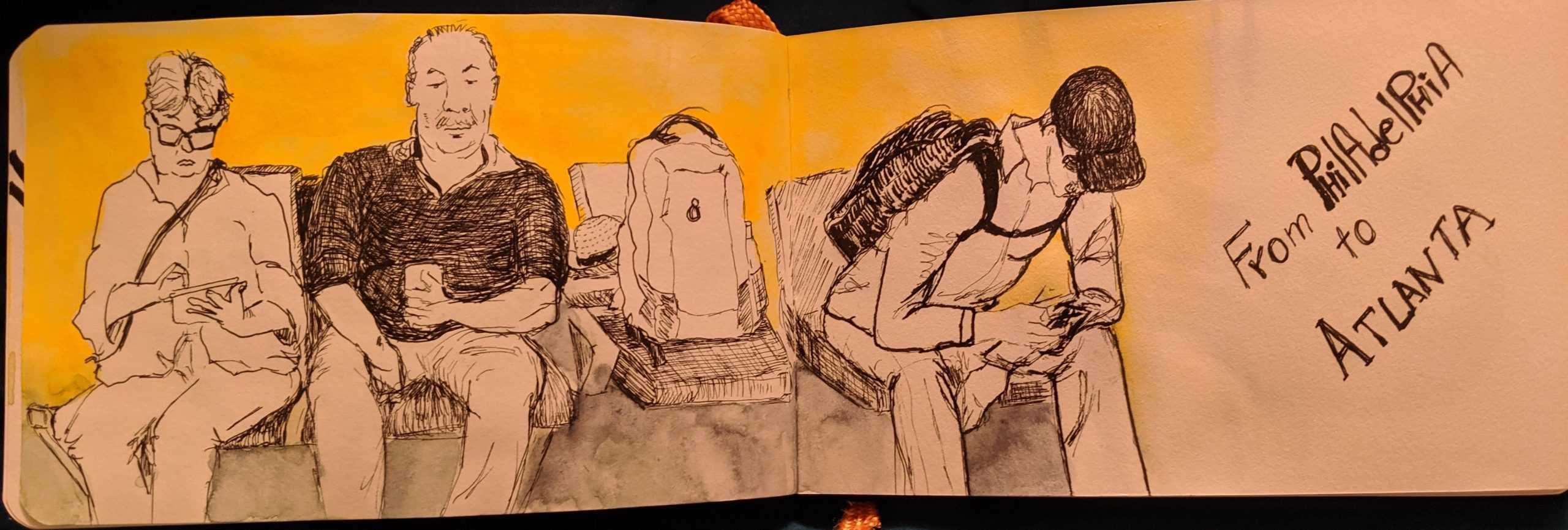 Irenka Dominguez-Pareto Drawing