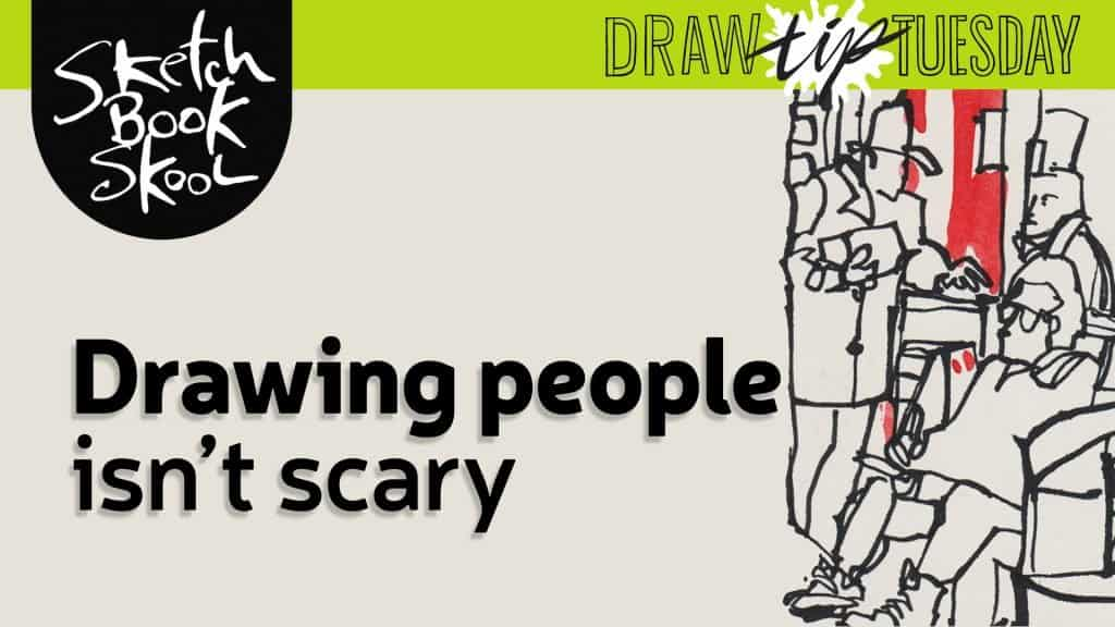 how to draw people guide