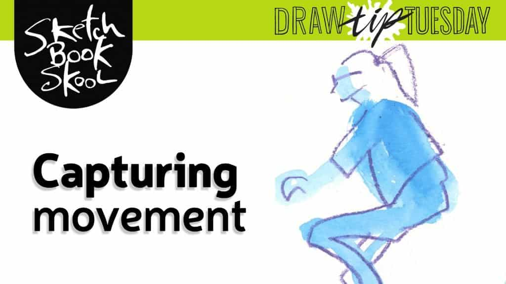 how to draw people in motion