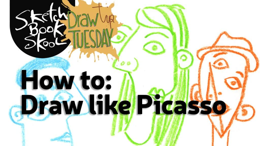 how to draw like picasso