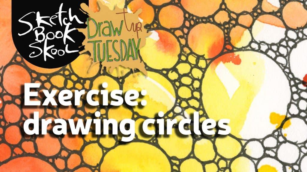 drawing circle exercise