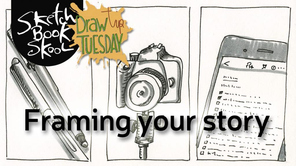 framing you story sketch
