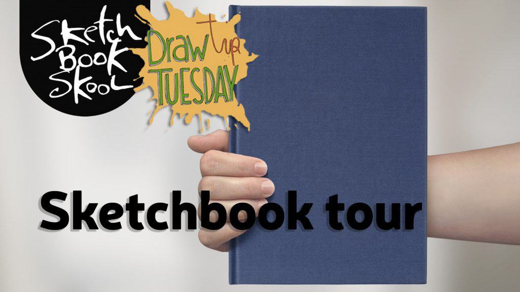 Koosje's Sketchbook tour