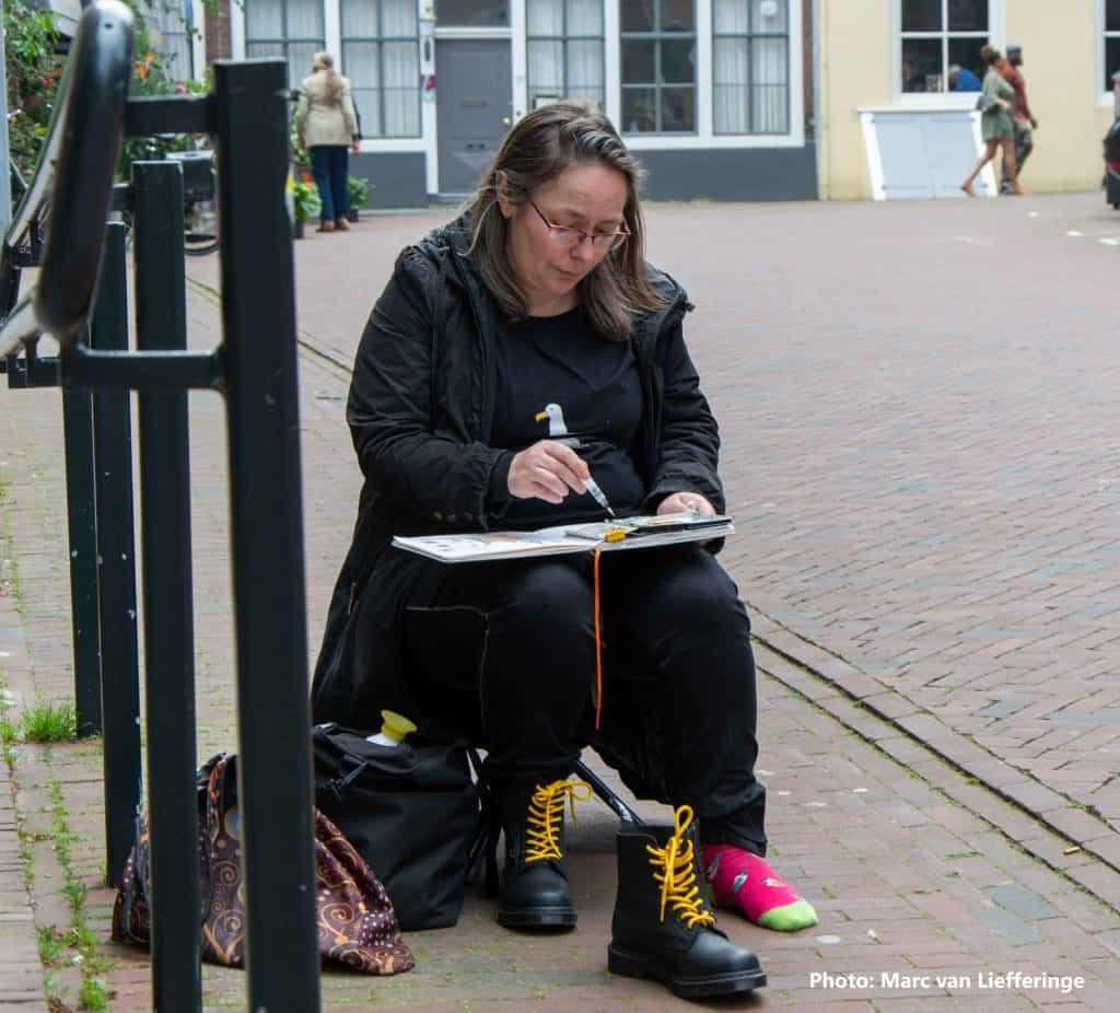 Gwen Glotin spotlight student
