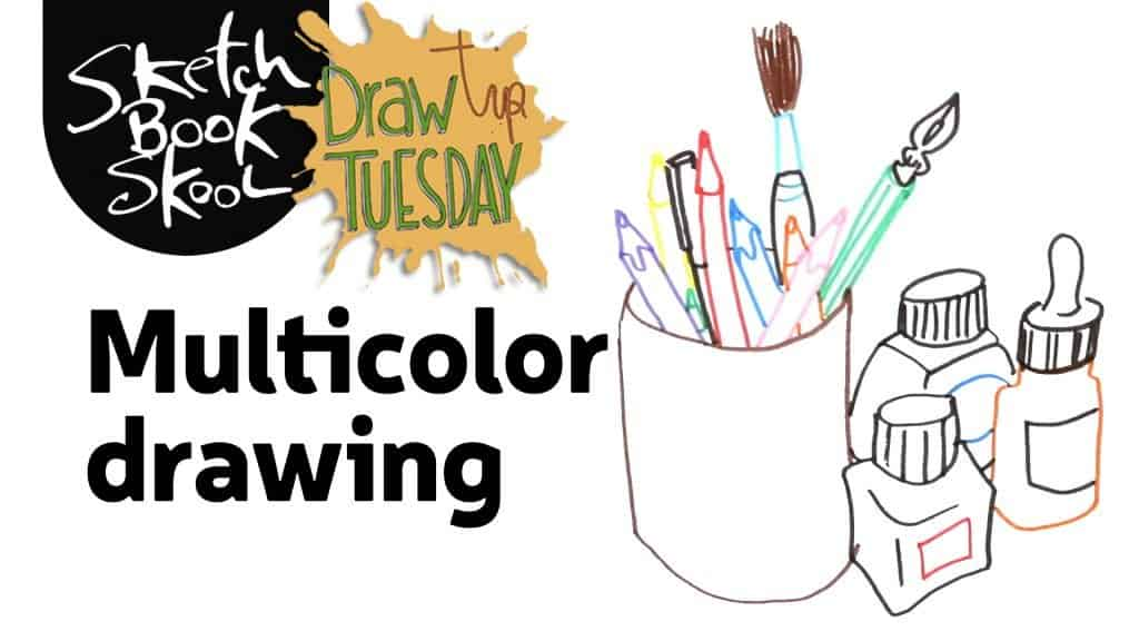 how to make muti-color drawing