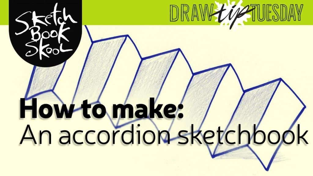 how to make an Accordion Sketchbook