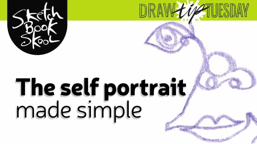 how to draw a blind contour drawing