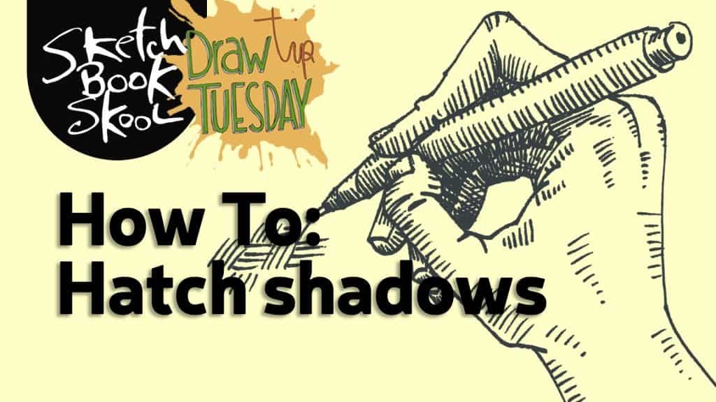 how use hatch to create shadow