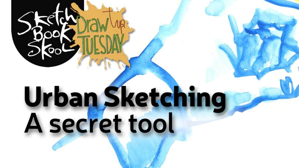 urban sketching secret tool