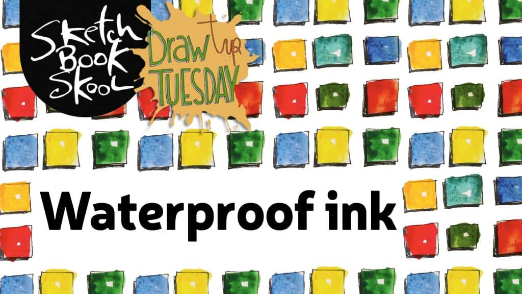 how to use waterproof ink