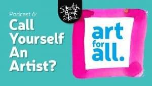 call yourself an artist