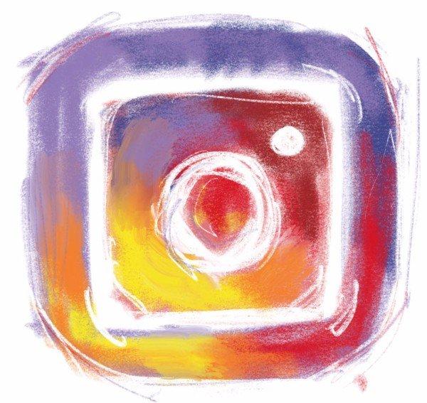 art instagram accounts logo