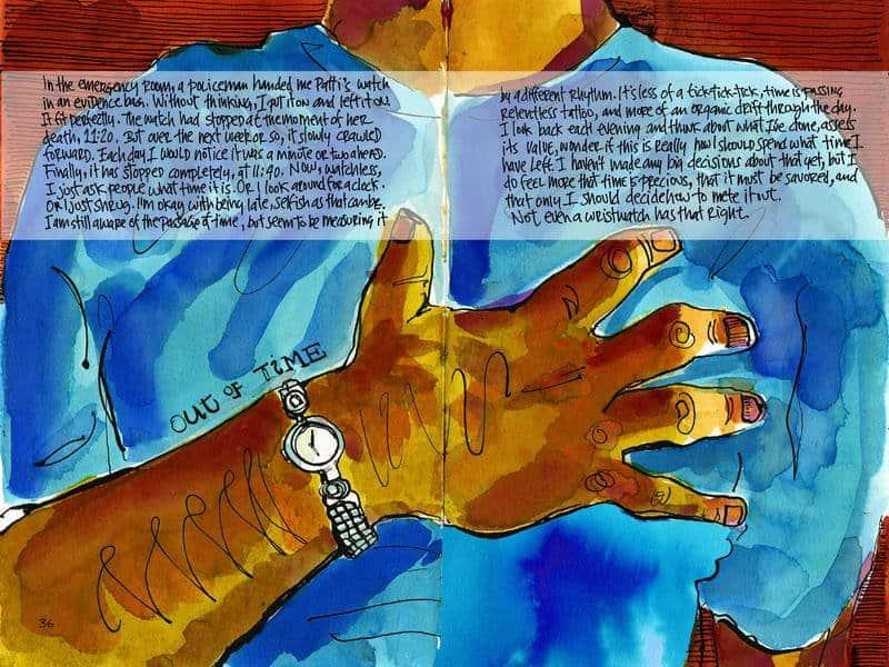 How My Sketchbook Helped Me Heal