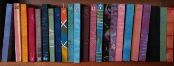 binding sketchbooks