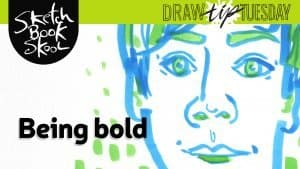 How To Use Markers in drawing