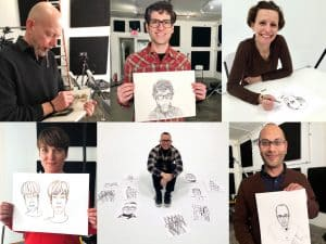 People Drawing People