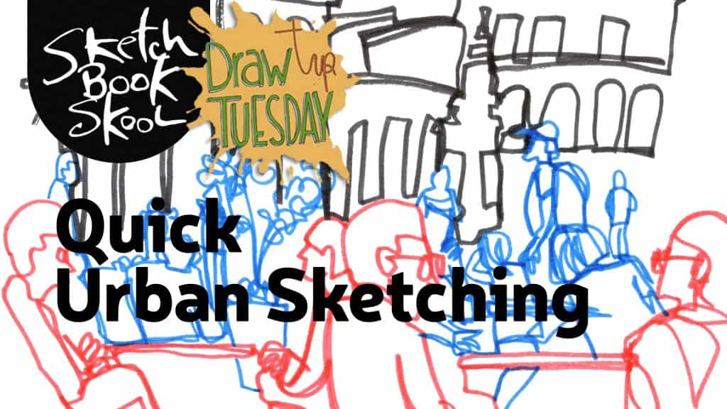 urban sketching tips