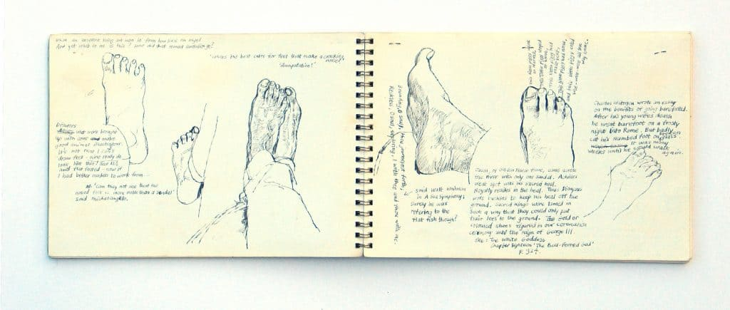 fifty years of sketching