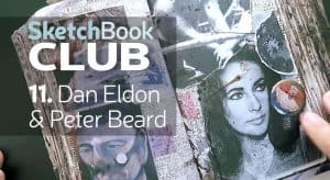 Dan Eldon & Peter Beard sketchbook