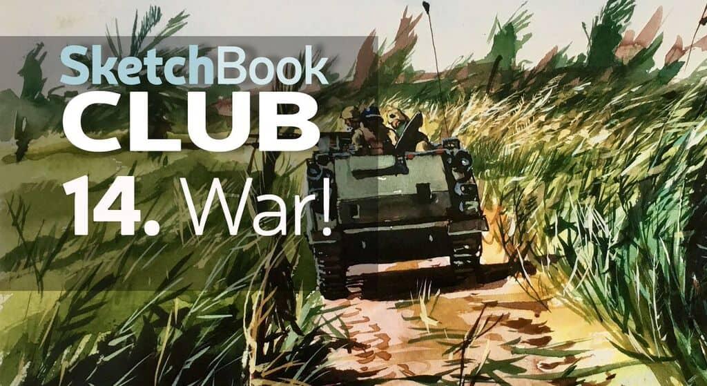 war sketch work