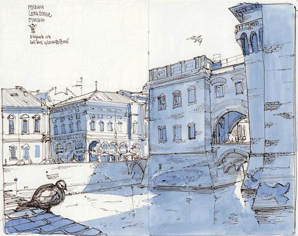Miguel Herranz sketch work
