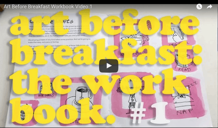 art before breakfast the workbook
