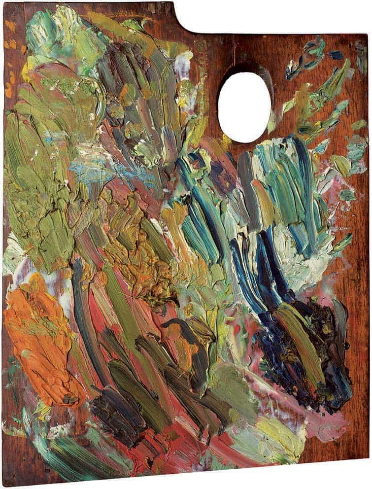 Vincent Van Gogh color Palette