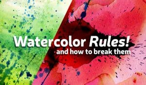 the making of watercolor rules
