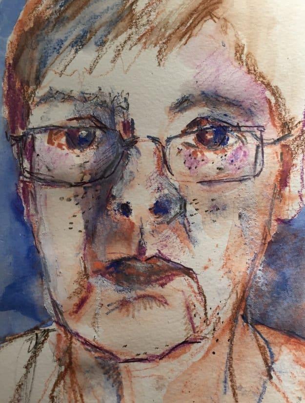 louise self-portrait