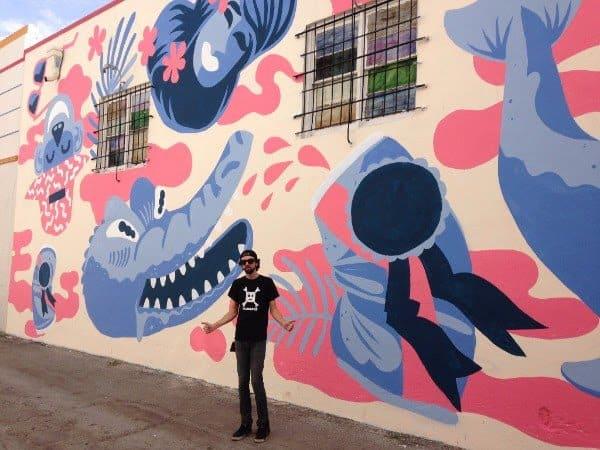 sketchbook ideas - brian mural art work