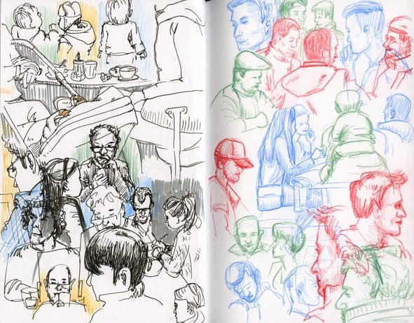 sketch from sketchcrawl drawing marathon