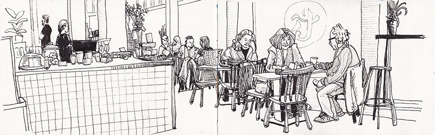 Koosje's Urban Sketching Story