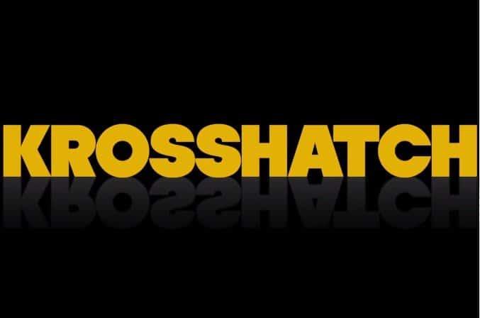 crosshatching banner