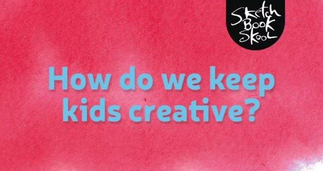 how to keep kids creative