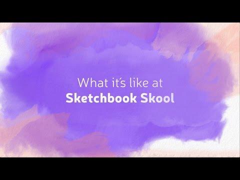 what its like to be at sketchbook skool