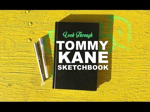 sketchbook took from tommy kane