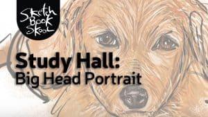 big head portrait