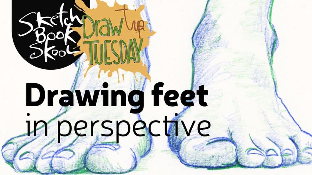 how to draw foreshortening